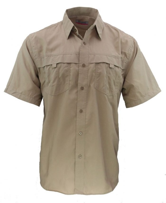 Camisa estilo columbia khaky