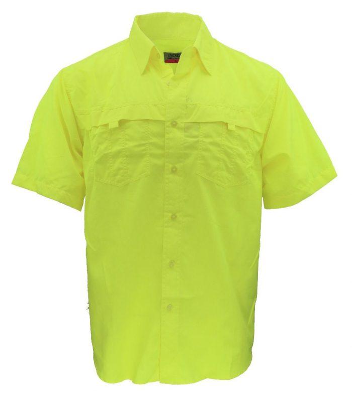 Camisa estilo columbia verde caña
