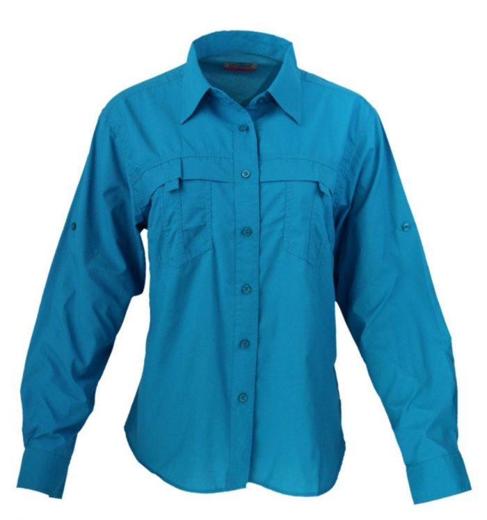 Camisa manga larga estilo columbia