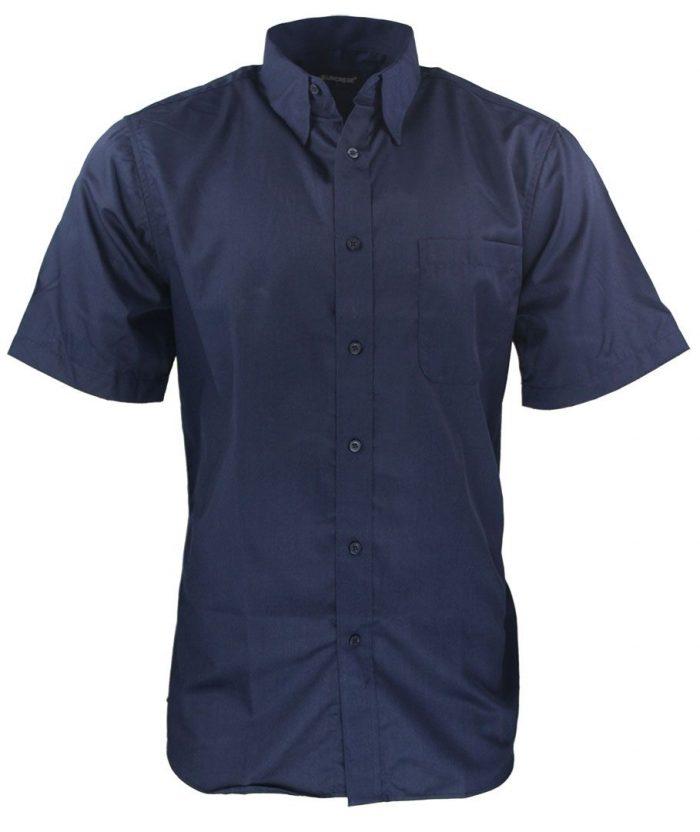 Camisa para caballero color azul navy