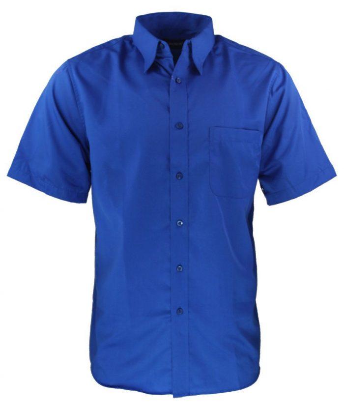 Camisa para caballero color azul royal