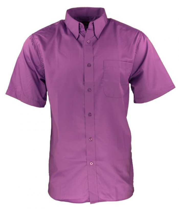 Camisa para caballero color fucsia