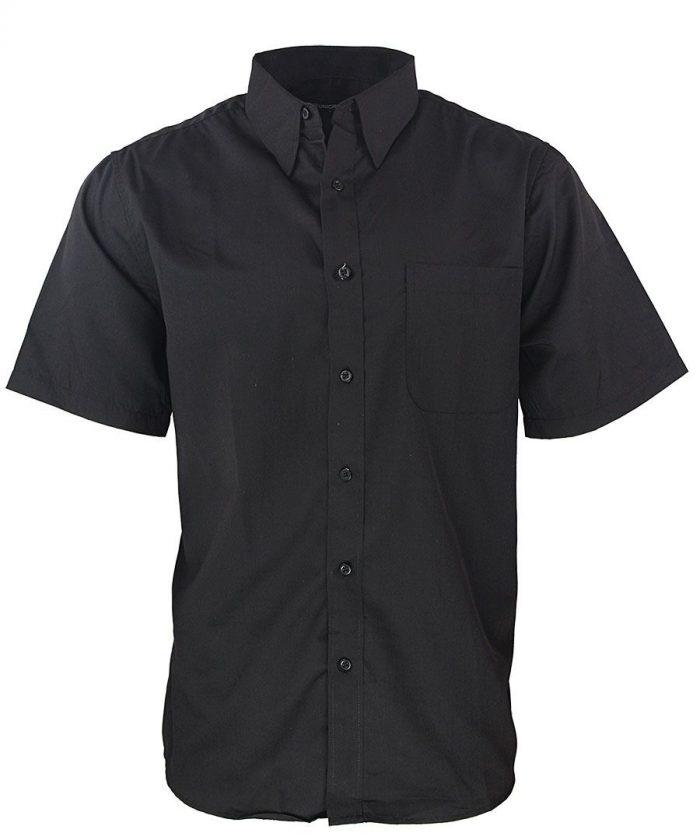 Camisa para caballero color negro