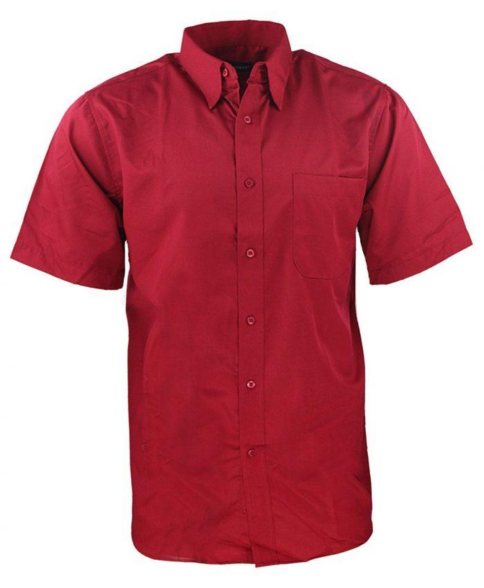 Camisa para caballero color rojo