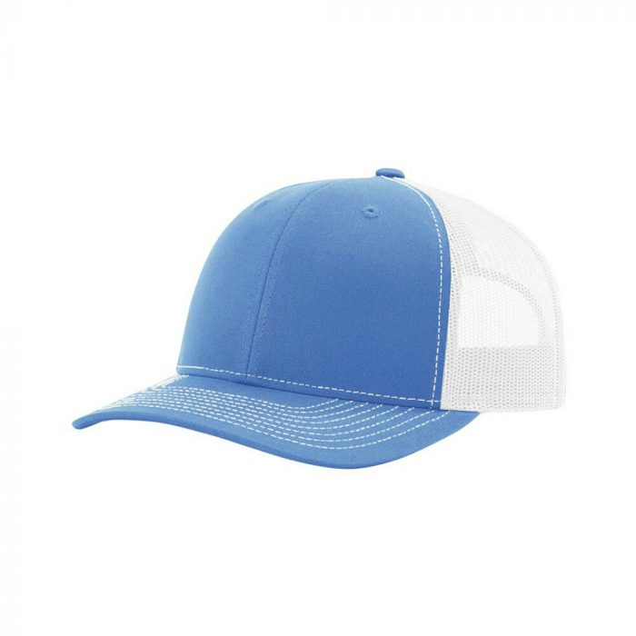 gorra richardson azul con blanco
