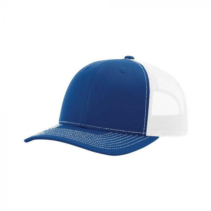 gorra richardson azul con blanco atras 2