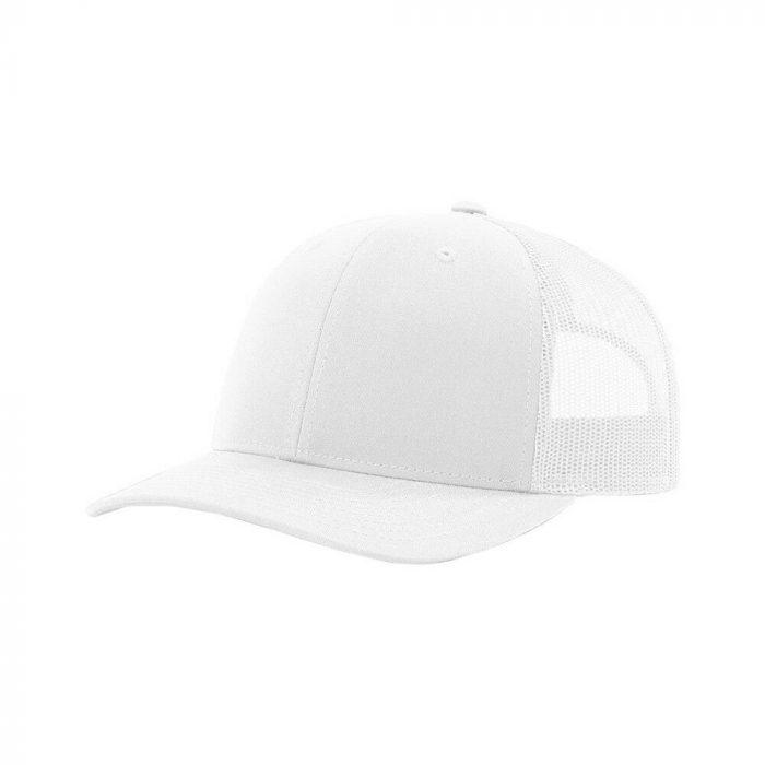 gorra richardson blanca