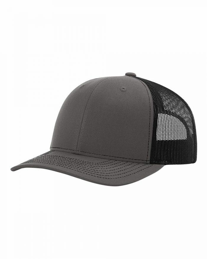 gorra richardson gris con negro