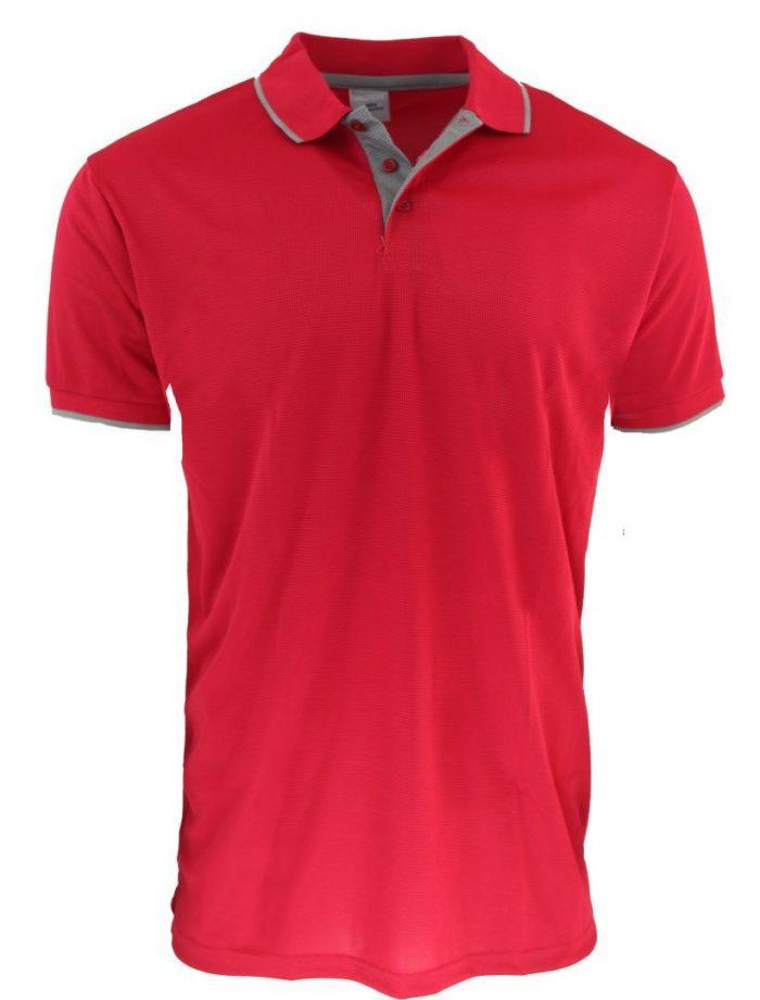Sueter Polo Waffit en color rojo