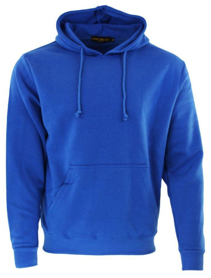 Sudadera en color azul royal
