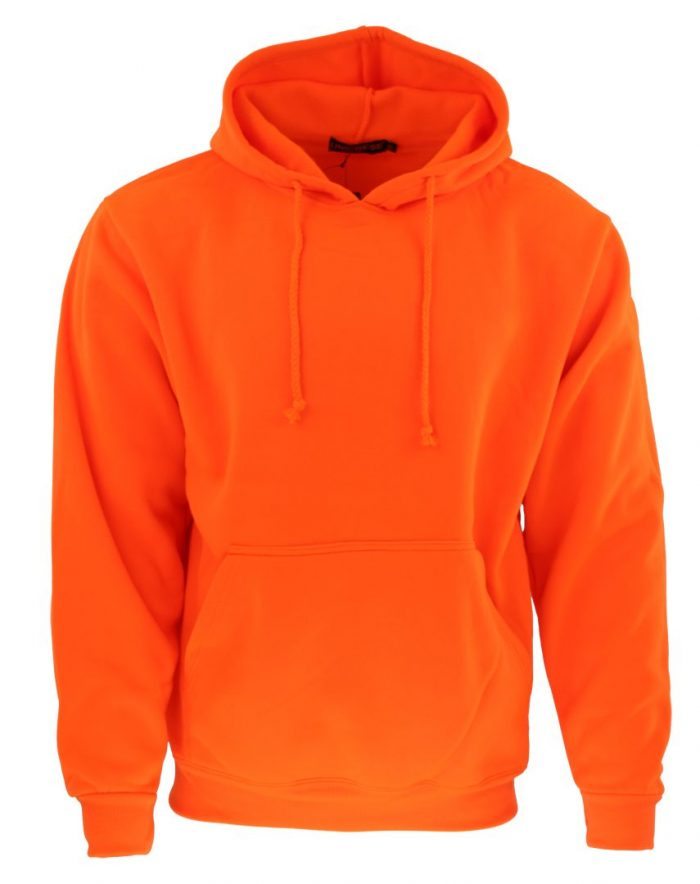 Sudadera en color naranja