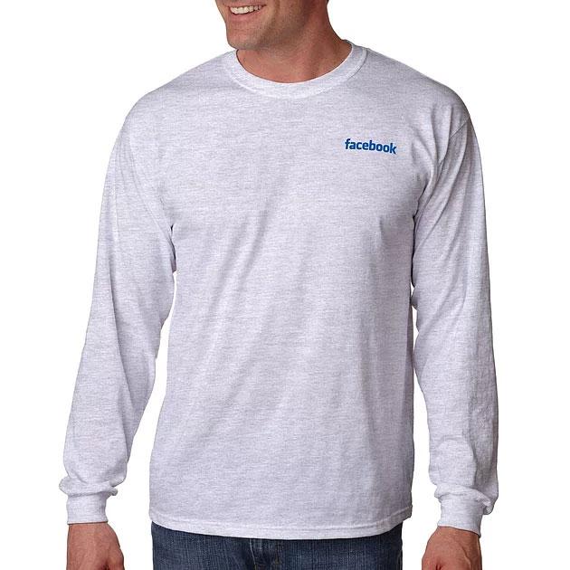 Camiseta manga larga cuello redondo