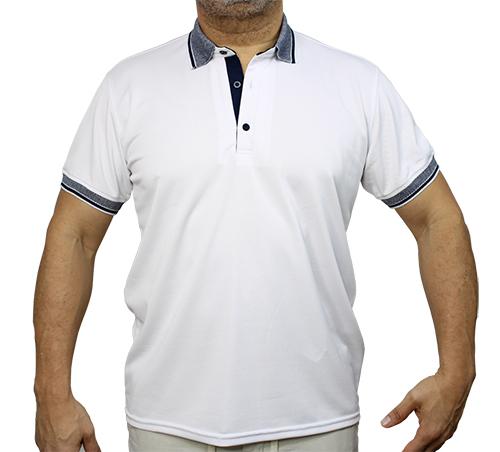 Tshirt Polo Blanco